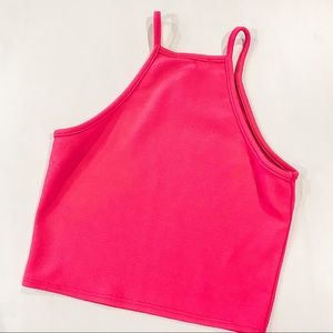 Absolute Hot Pink Crop Top size S
